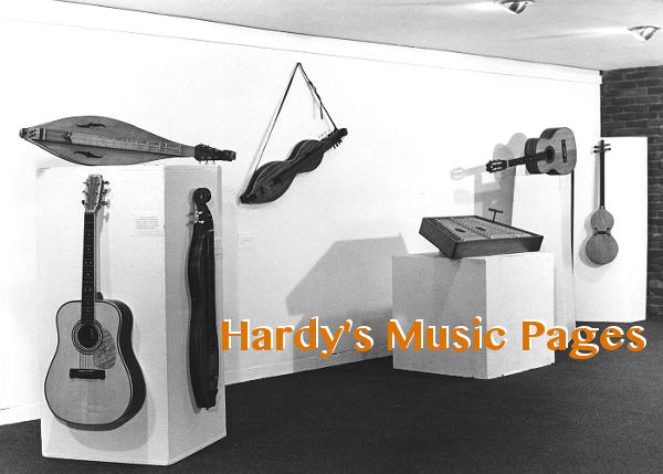 Hardy's Music Pages